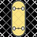 Skating Board Ski Icon