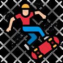 Sketboard Skate Sport Icon