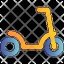 Skating Bicycle Travel Icon