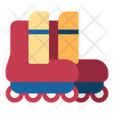 Leisure Sports And Competition Roller Skate Icon