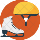 Skates Skating Ice Icon
