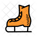 Skating Shoe Winter Icon