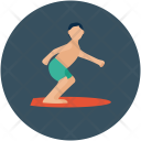 Baby Skating Figure Icon