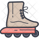 Road Skating Shoes Icon