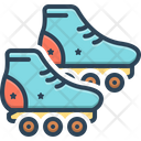 Skating Boot Roller Icon