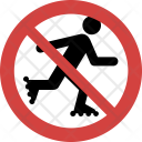 Skating Stop Allowed Icon