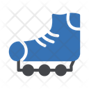 Skating Shoe Hobby Icon