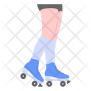 Skates Skating Rollerblade Icon