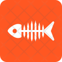 Skeleton Fish Food Icon