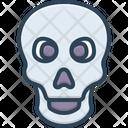 Skeleton Bone Skull Icon