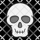 Skeleton Face Medical Icon