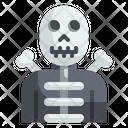 Skeleton Avatar Halloween Icon