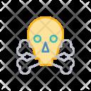 Skeleton Skull Halloween Icon