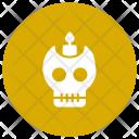 Skeleton Skull Danger Icon