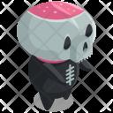 Skeleton Monster Devil Icon