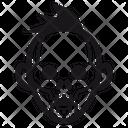 Halloween Skull Undead Icon
