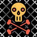 Skeleton Horror Head Icon