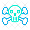 Skeleton Head Icon