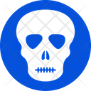 Skelton Autopsy Human Skull Icon
