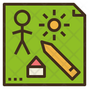 Doodle Draw Imagination Icon