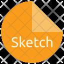 Sketch File Format Icon