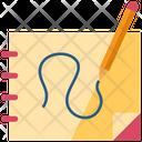 Sketch Drawing Design Icon