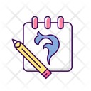 Sketch Tattoo Sketch Drawing Icon