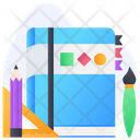 Drawing Book Stationery Sketchbook Icon