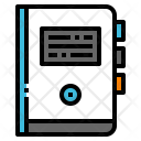 Book Sketchbook Diary Icon