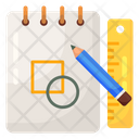 Drawing Book Sketching Graphic Book Icon