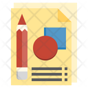 Sketching Sketch Notebook Icon