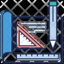 Sketching Graph Graphic Designing Manual Sketching Icon