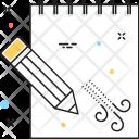 Sketchpad Drawing Drafting Icon