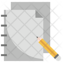 Sketchpad Notepad Notebook Icon