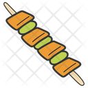 Bbq Barbecue Skewer Icon