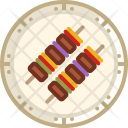 Skewer Bbq Grill Icon