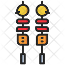Skewer Barbecue Food Icon