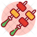 Bbq Barbecue Skewers Icon