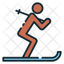 Ski Skier Skiing Icon