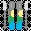 Ski Skiing Winter Icon
