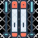 Ski Skier Activity Icon