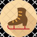 Ski Shoes Skate Icon