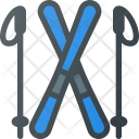 Ski Skiing Winter Icon