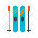 Ski Equipment Ski Ice Ski Icon