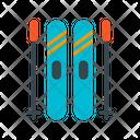 Ski Equipment Icon