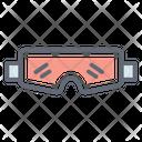 Ski Goggles Eyewear Eye Protection Icon