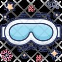 Ski Goggles Swimming Goggle Eye Wear Icon