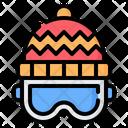 Ski Skiing Goggle Icon