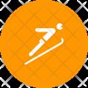 Ski Jumping Olympics Icon