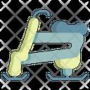 Skibob Icon